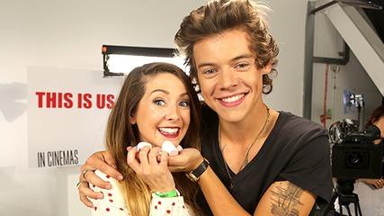 When One Direction Met Zoella! -