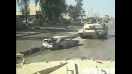 танк vs кола бомба