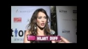 Interview with Hilary Duff