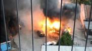 Пожар в Пловдив 29.06.2013