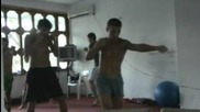 Muay Thai workout - Ск Епископ Вулфила, гр.провадия