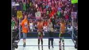Shawn Michaels vs. Triple H vs. John Cena ( Wwe Survivor Series 2009 ) - W' Championship