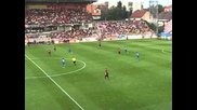 Spartak Trnava against Levski Sofia 1st half part2