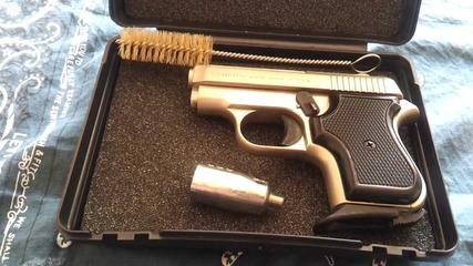 Кратко ревю на Blow Mini 8mm газов пистолет