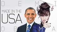 Barack Obama Singing Made in the Usa by Demi Lovato :d :d