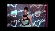 Софи Маринова пред eurovision-bg.com & Live 7 Tv преди финала на Евровизия