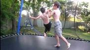 Mini Jeff Hardy defeats Mini John Cena