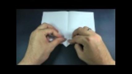 Как да си направим оригами самолет