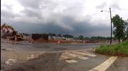 Източен бряг, тежка буря 1.6.2012 щата Мериленд Торнадо предупреждения Hd ловец на бури