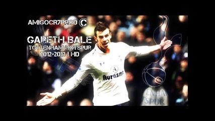 Gareth Bale - Tottenham Hotspur 2012-2013 | Skills & Goals | Hd