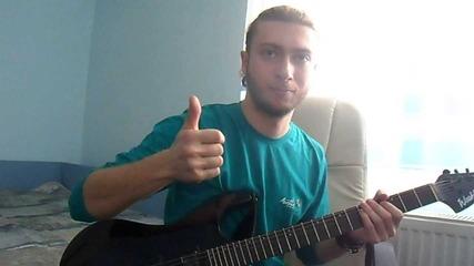 Svetlin- Fame Infamy (vocals & Rhytm Guitar)