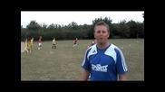 Learn football soccer skills tricks - flick up moves