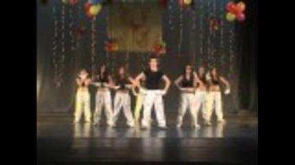 Dance To The Max-национално състезание в Бургас 04.2011 - 3то място