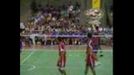 Волейбол с крака ( Тайланд )