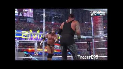 Wrestlemania 28 Triple H vs. Undertaker (hell in A Cell Hd)highlights