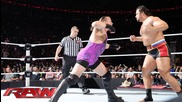 Rob Van Dam vs. Rusev: Raw, July 7, 2014