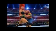 "Wrestlemania 28 - The Rock vs John Cena - ""once In A Lifetime"" Match"
