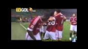 Милан 1:0 Чезена - Гол на Зеедорф