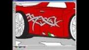 Mspaint Car by Danielsson