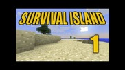 "Minecraft - ""survival Island"" Part 1: Save Us!"