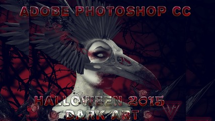 Хелоуин 2015 - Photoshop Cc Dark Art