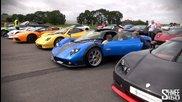 World's Best Car Park? 4 Zondas, 3 Enzos, Veyron, Ccr Revo, Gump
