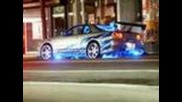 Need for speed and Fast and furious cars music video