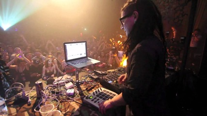 Skrillex @ Champion Sound 2011 @ King Cat Theater - live Seattle