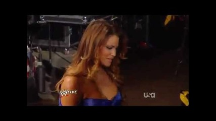 Zack Ryder Confronts John Cena After The Kiss With Eve Torres - Wwe Raw 2/13/12