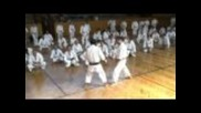 Kihon applications by Sadashige Kato, 9th dan shotokan