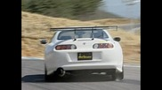Inline 6 Shootout - Mine's R34 Skyline Gt-r & Amuse Supra - Best Motoring International