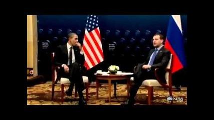 Съобщението на Обама до Путин