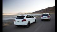 2015 Porsche Cayenne Vs. 2015 Volkswagen Touareg 'offroad'!