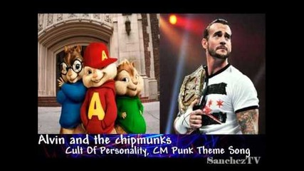 Alvin and the chipmunks Cm Punk Theme Song