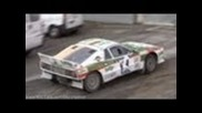 Lancia Rally 037 Wheelspin, Burnout and Acceleration!