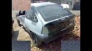 Opel Kadett в процес на тунинговане