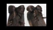 Как да си направим Панделка с косата (прическа)