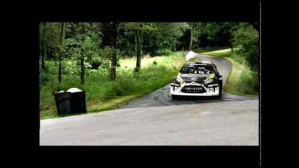 Rock It Like Ken Block - Ford Fiesta Racing 2010