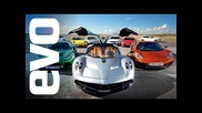 evo Car of the Year 2012 - feat. Pagani Huayra v Mclaren and more. In associat