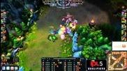 League of Legends Sk vs Ccg Ipl5 [part 1]
