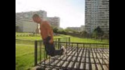 Руски уличен фитнес