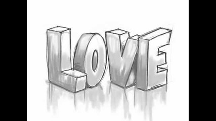How to draw 3d Love Gaffiti (for begginers in 3d drawing)
