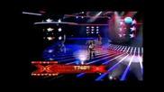Полуфинал X Factor Aleksandra ( Sanny ) Lenny Kravitz American Woman