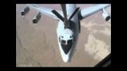E-3 Sentry (awacs) Aerial Refueling