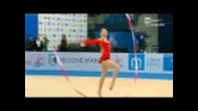 художествена гимнастика Силвия Митева България Wc Cup Pasaro