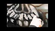 Artprimo.com Graffiti Piecing Tutorial with Spray Paint: Goblin Character