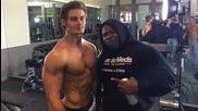 Тренировка за гърди със Kai Greene,jeff Seid & Alon Gabbay