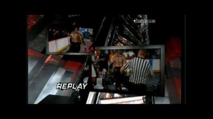 Jeff Hardy vs Umaga Falls Count Anywhere Part 1
