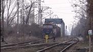 Товарен влак на Бжк с двойна тяга