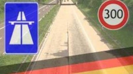 Driving fast on the German Autobahn